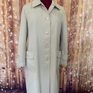 Forester of Boston Trench Coat Vintage 1970 15/16